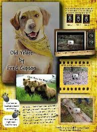 old yeller reading street excerpt old yeller glogster edu interactive multia posters
