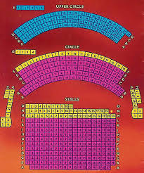 Theatre Royal Lincoln Seating Plan View The Seating