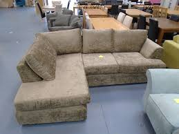 The Living Room Furniture Store Glasgow Brand New Fabric Corner Sofa With Chaise Can Deliver Ek