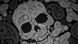 Skull Wallpaper For Bedroom Mexican Skull Wallpaper