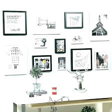 post picture frame sets for wall collage set gallery deluxe white perfect 9 piece wall collage frames