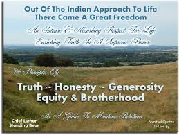 Native American Quotes To Live By