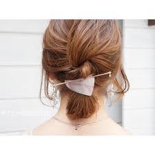 ミディアムヘアのポニーテールヘアアレンジ18選簡単可愛いまとめ髪 Belcy