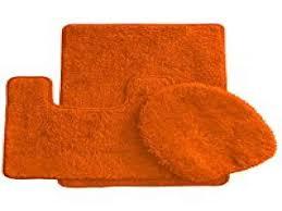 burnt orange bathroom accessories for burnt orange bathroom rug set