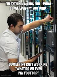 everything works fine working in it