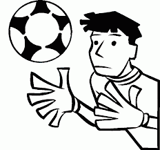 Small Picture Soccer Coloring Pages
