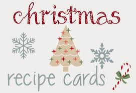 Printable Christmas Recipe Cards Free Printable Christmas Recipe Card Template Furniture Design For