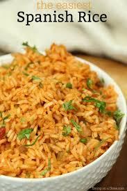 spanish rice. Brilliant Rice Easy Spanish Rice Recipe In A
