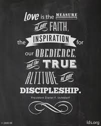 Lds Love Quotes Delectable The Measure Of Love