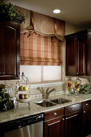 Kitchen Shades Roman Curtains Diy Diy Blackout Roman Shade Love The Look Of