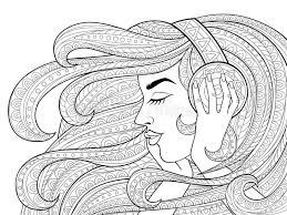 To print any of these pages, simply right click on an image and select a save option from your drop down menu. Music Adult Coloring Stock Illustrations 273 Music Adult Coloring Stock Illustrations Vectors Clipart Dreamstime
