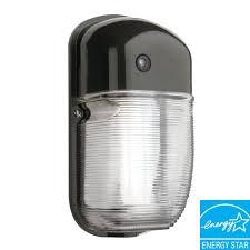 exterior wall pack lighting fixtures. dusk-to-dawn wall-mount outdoor bronze fluorescent mini wall pack exterior lighting fixtures a