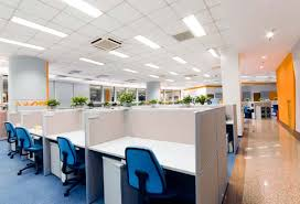 lighting in an office. office lighting in kansas city an