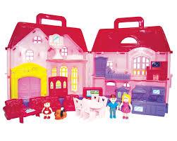 just kidz family doll house play set dreamz bathroom dollhouse