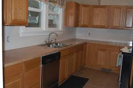 Oak Cabinets Stained Dark Kitchen Tagged Honey Oak Kitchen Cabinets Wall Color Archives