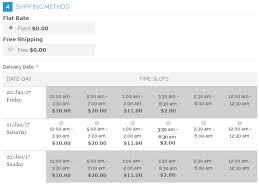 Magento Delivery Date Scheduler Extension Estimated Order Delivery