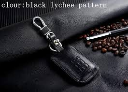 leather key fob cover key holder for lexus is es gs rx350 f rx450h 3 4 ons key bag case wallet keychain ring accessories jpg
