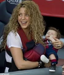 Shakira Brings the Kids to Cheer For Gerard Piqu See the Cute.