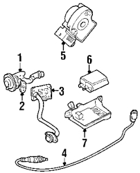 Genuine ford vapor canister for f5rz9d653a
