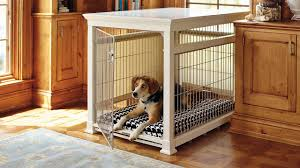 image of free wooden dog crate plans