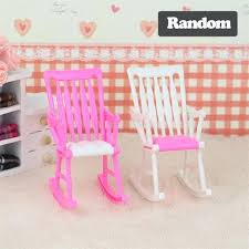 girls dolls house mini doll rocking chair doll house furniture dollhouse decoration doll room accessories decoration