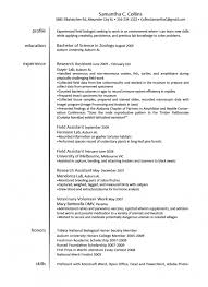 Veterinary Technician Resume Sample
