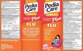 Pediacare Childrens Plus Flu Details From The Fda Via