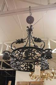 spanish chandelier wrought iron chandelier wrought iron vintage chandelier