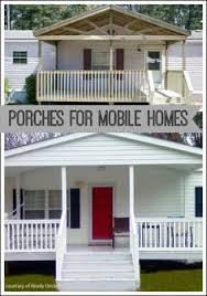 porches for mobile homes from ready decks via front porch ideas and morecom artist creates mobile homes