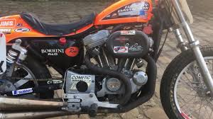 harley davidson 883 factory flat tracker for sale on ebay youtube