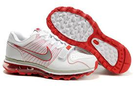 nike shoes white and red. air max 2009 fashion nike running trainers shoes white red mens and