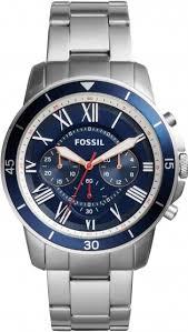 fossil fs5238 mens watch silver gay times £135 00 fossil fs5238 mens watch silver