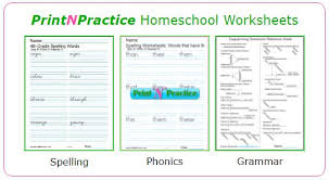 Our collection of free spelling worksheets covers a wide range of ages and can be used for kids ranging from kindergarten up to 3rd grade. 1000s Of Homeschool Worksheets Free Interactive Digital Practice Fun