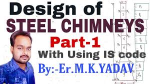 Design Steps Of Steel Chimney Design Of Steel Chimney Part 1