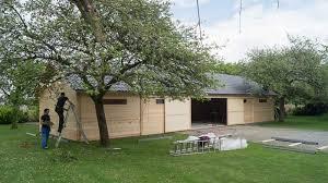Beautiful Montage Et Finitions Hangar Garage En Bois