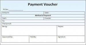 Payment Voucher Template Format Sample Coupon Template
