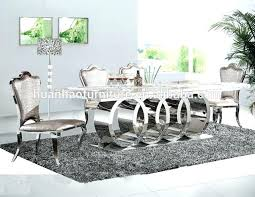 best dining table ideas on source new design marble top stainless steel leg set room tables