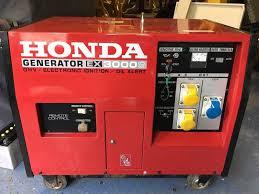 honda diesel generator. Honda EX3000 Diesel Generator