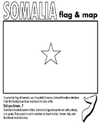 Somalia Coloring Page Geography Crayola Coloring Pages Somalia