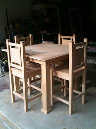 Pub Style Kitchen Tables Ana White My First Dining Table And Chairs Project Diy Projects