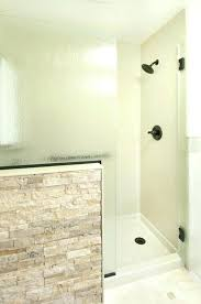 bathroom remodel tile shower. Shower Accent Wall Bath Remodel Solid Surface With Stone Bathroom Tile