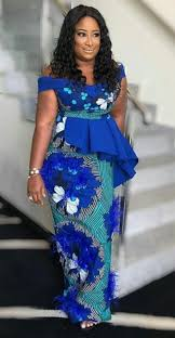 African Fashion Designers 2019 Elegant Lady In Ankara African Wear Best African Dresses