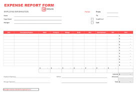 Expense Report Form Template Employee Expenseeport Template Ideas Google Docs Unusual