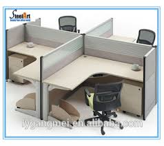 round office desks. office furniture cubicle staff table wooden round workstation desks