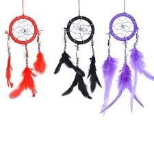 Mini Dream Catcher Lot Magnificent Lot Of 32 Mini Dream Catcher Pure Black Red And Purple Traditonal