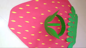 How To Make Strawberry Costume For Fancy Dress At Home Strawberry Costume For Kids