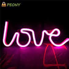 Đèn Led Neon Hình Hoa Mẫu Đơn Trang Trí Nội Thất tại Nước ngoài