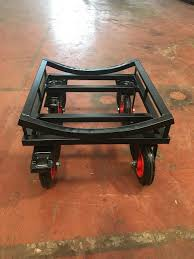 small roll trolley with brakes