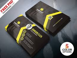 10 Free Business Cards Free Modern Business Cards Design Templates Psd
