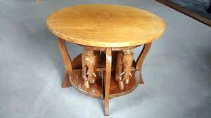 hand carved coffee table carved coffee table hand carved coffee table with 4 elephants carved coffee